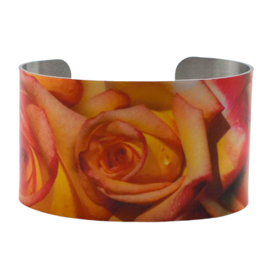 Summer Rose Cuff Bracelet - Wear the Wonder