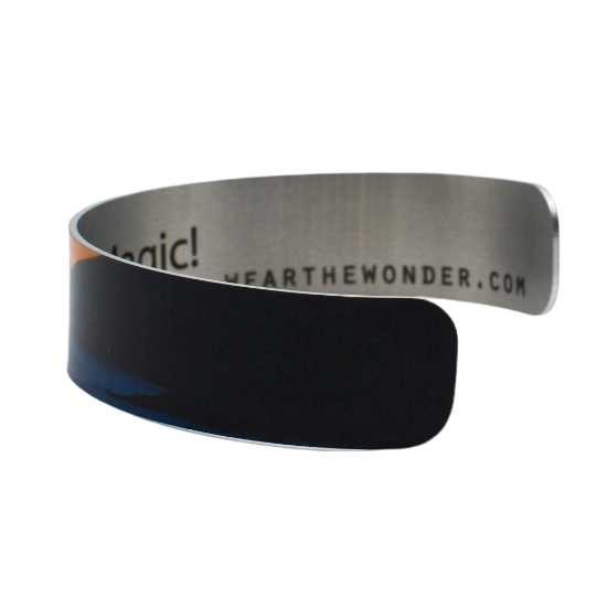 Coastal Sunrise Narrow Cuff Bracelet - Wear the Wonder