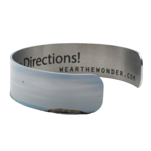 Majestic Beacon Narrow Cuff Bracelet - Wear the Wonder