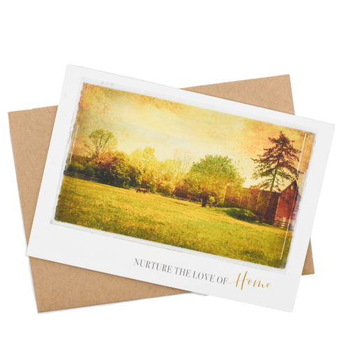 Nurture the Love of  Home Greeting Card - Wear the Wonder