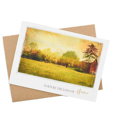 Nurture the Love of  Home Greeting Card