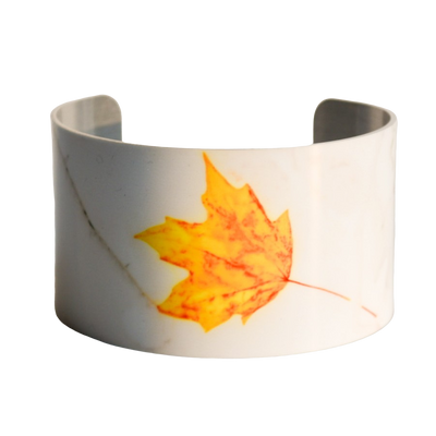 Lonely Leaf Cuff Bracelet