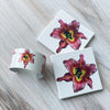 View 1 of Pink Lily Cuff and Coasters | Wear the Wonder