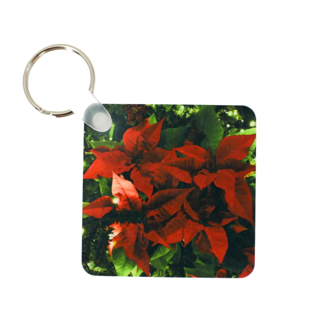 Poinsettia Keychain | Wear the Wonder
