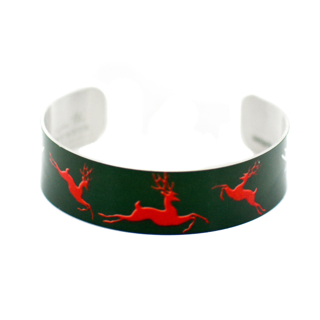 Reindeer Narrow Cuff Bracelet | Wear the Wonder