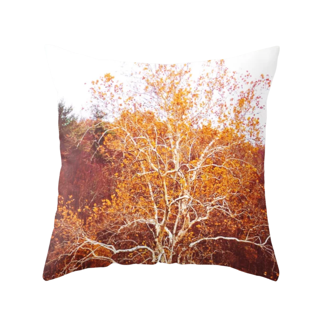 Golden Sycamore Decorative Throw Pillow - Wear the Wonder