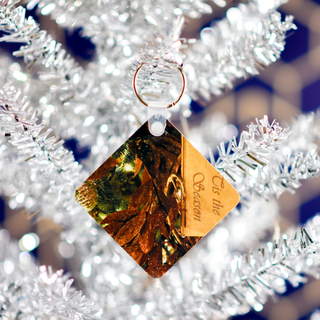 Tis the Season Christmas Keychain in a Christmas Tree | Wear the Wonder