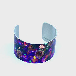 369 product view of Christmas Sparkle Wide Cuff Bracelet | Wear the Wonder