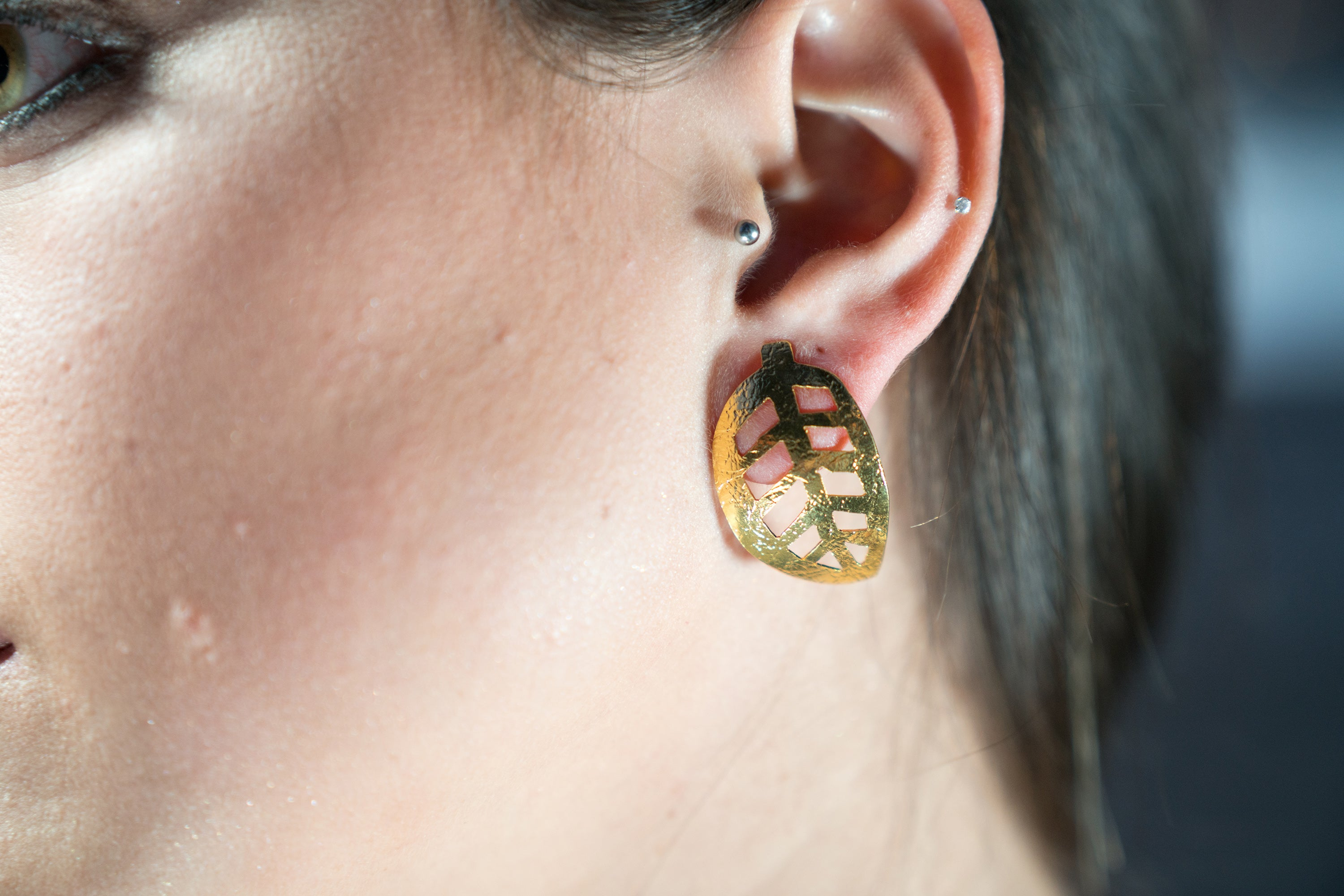 AUTUMN LEAVES STUDS