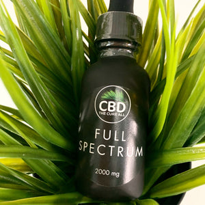 CBD OIL FULL SPECTRUM TINCTURE 2000mg