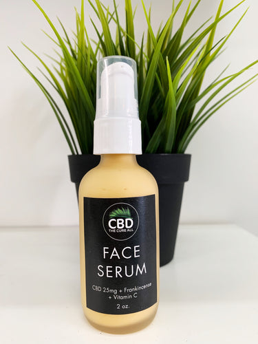 CBD 25mg FACE SERUM with DRAGON'S BLOOD
