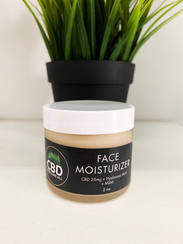 CBD 25mg FACE MOISTURIZER with Dragons Blood