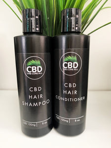 CBD 100mg HAIR SHAMPOO and CONDITIONER