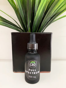 CBD OIL FULL SPECTRUM TINCTURE 500MG