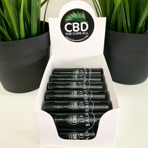 CBD 25mg Lip Balm Stick BOX  Dozen