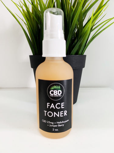 CBD 25mg FACE TONER with Dragons Blood