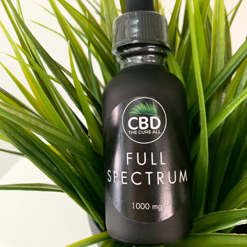 CBD OIL FULL SPECTRUM TINCTURE 1000MG