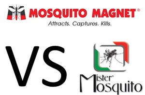 MOSQUITO MAGNET vs MISTER MOSQUITO