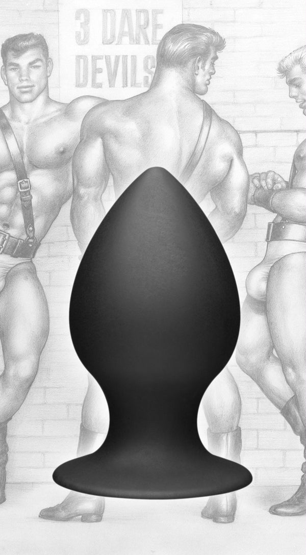 Tom of Finland Medium Silicone Anal Plug