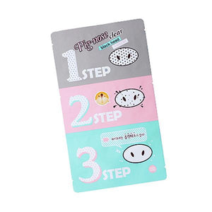 Holika Holika Pig Clear Black Head 3-Step Kit - K.Yeppuda