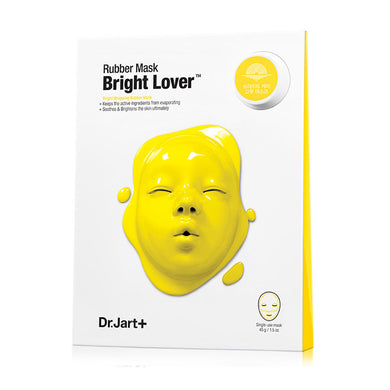 Dr. Jart+ Dermask Rubber Mask Bright Lover: Ampoule Pack 5ml + Wrapping Rubber Mask - K.Yeppuda