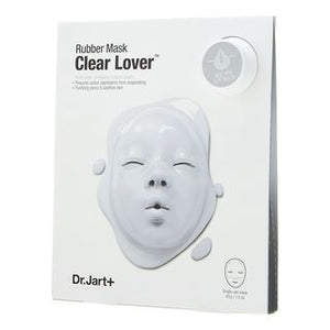 Dr. Jart+ Dermask Rubber Mask Clear Lover: Ampoule Pack 5ml + Wrapping Rubber Mask - K.Yeppuda