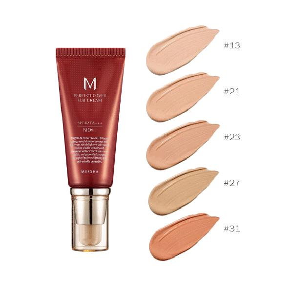 Missha M Perfect Cover BB Cream SPF42 PA+++ 50ml - K.Yeppuda
