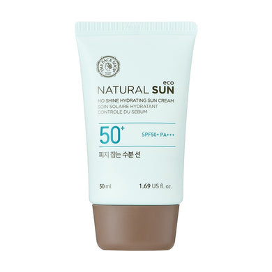 The Face Shop Natural Sun Eco No Shine Hydrating Sun Cream SFP50+ PA+++ - K.Yeppuda