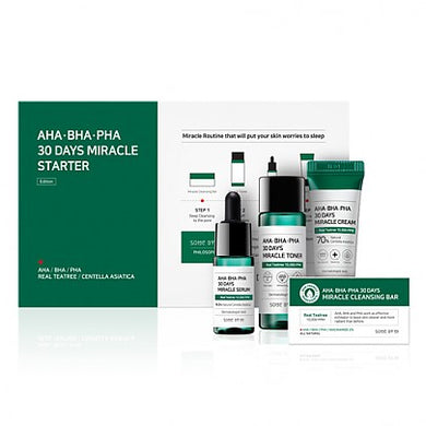 Some by Mi AHA, BHA, PHA 30 Days Miracle Starter Limited Set - K.Yeppuda