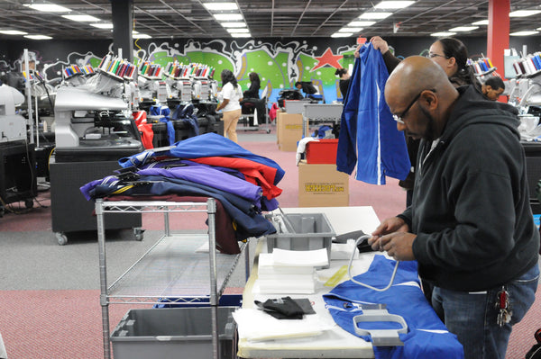 Custom Apparel Pros Production Facility