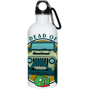 Living Dead Off Road 23663 20 oz. Stainless Steel Water Bottle