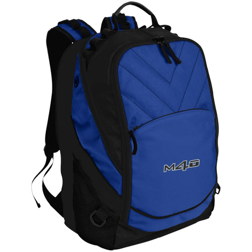 M4O embroidered logo BG100 Port Authority Laptop Computer Backpack