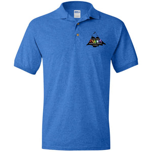 CO Springs Home School Sports League embroidered logo G880 Gildan Jersey Polo Shirt