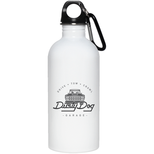 Dusty Dog 23663 20 oz. Stainless Steel Water Bottle