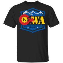 Load image into Gallery viewer, Colorado Wrestling Academy 2-sided print G500B Gildan Youth 5.3 oz 100% Cotton T-Shirt