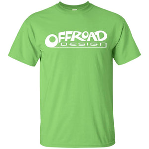 Offroad Design white logo G200B Gildan Youth Ultra Cotton T-Shirt