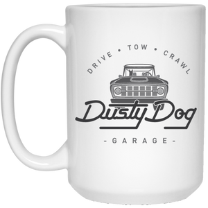 Dusty Dog 21504 15 oz. White Mug
