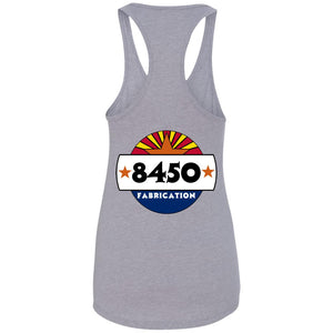 8450 Fab back logo only NL1533 Ladies Ideal Racerback Tank