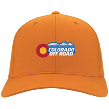 Load image into Gallery viewer, Colorado Off Road embroidered logo C813 Port Authority Flex Fit Twill Baseball Cap
