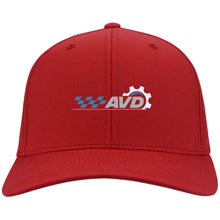 Load image into Gallery viewer, AVD embroidered logo C813 Port Authority Flex Fit Twill Baseball Cap