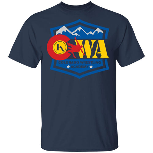 Colorado Wrestling Academy 2-sided print G500 Gildan 5.3 oz. T-Shirt