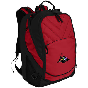 CO Springs Home School Sports League embroidered logo BG100 Port Authority Laptop Computer Backpack