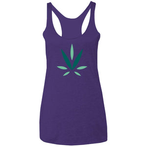 Village Vine NL6733 Ladies' Triblend Racerback Tank