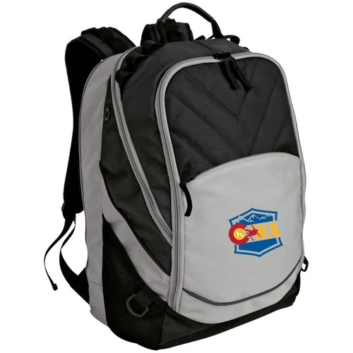 CWA embroidered logo BG100 Port Authority Laptop Computer Backpack