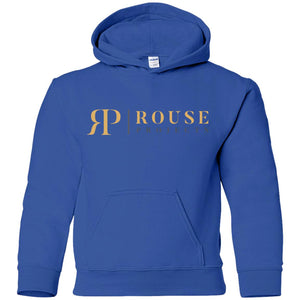 Rouse Projects G185B Gildan Youth Pullover Hoodie