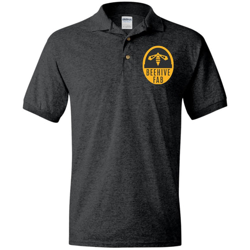 Beehive FAB embroidered logo G880 Gildan Jersey Polo Shirt
