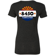 Load image into Gallery viewer, 8450 Fab back logo only NL6710 Ladies' Triblend T-Shirt