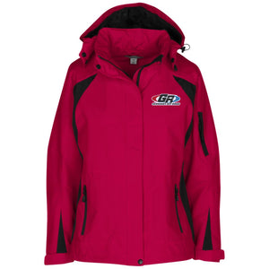 GenRight embroidered logo L304 Ladies' Embroidered Jacket