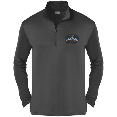 EPIC 4x4 Quest embroidered logo ST357 Sport-Tek Competitor 1/4-Zip Pullover