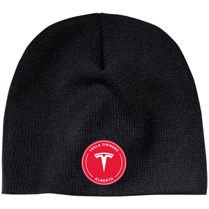 Tesla Owners Club of Alberta CP91 100% Acrylic Beanie